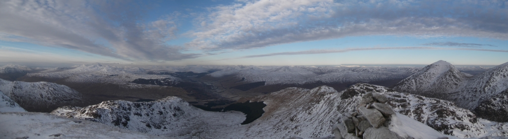 Looking North from Cruach Ardrain (copyright Michael Spencer)